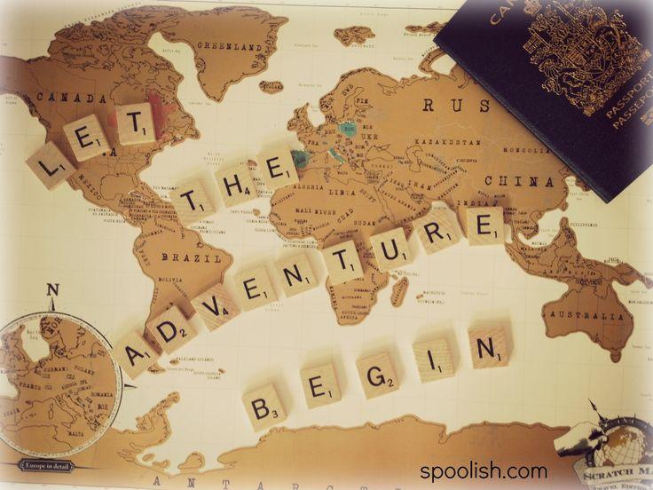 Let the adventure begin.  #travel #scrabble