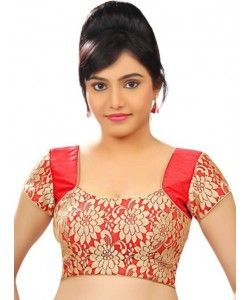 Kmozi  Latest  Red Beautiful Blouse material..  http://www.kmozi.com/designer-blouse/kmozi-latest-red-beautiful-blouse-material-416