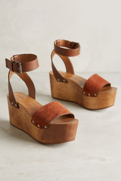 Kelsi Dagger Willow Wedges - anthropologie.com