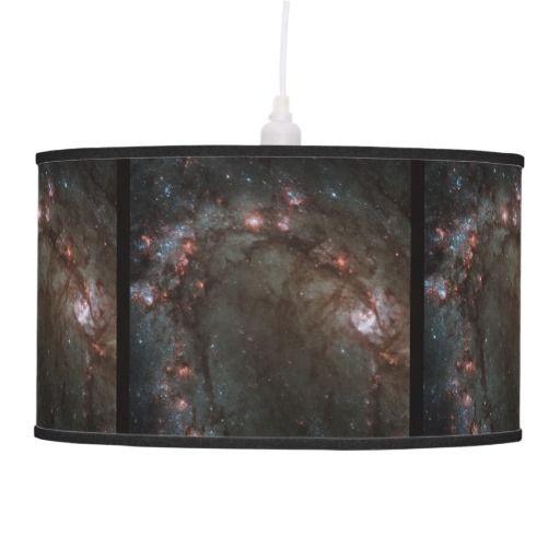 M83 Spiral galaxy hanging light