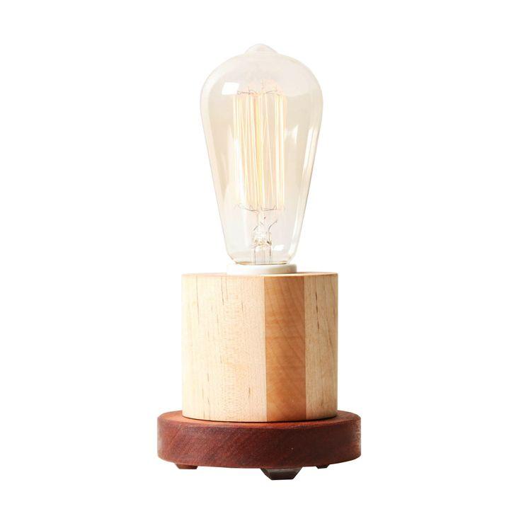 Handmade Edison Colorblock Table Lamp | dotandbo.com