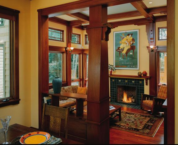 337 best images about craftsman mission style on pinterest Craftsman home interior