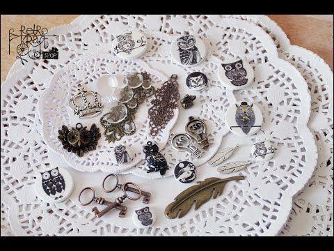 Zbliżenie na garść nowości - metalowych, szklanych, drewnianych, papierowych dodatków. :) A close-up of some new arrivals - metal, glass, wooden, paper embellishments. :) http://www.retrokraftshop.pl/pl/8-ozdoby