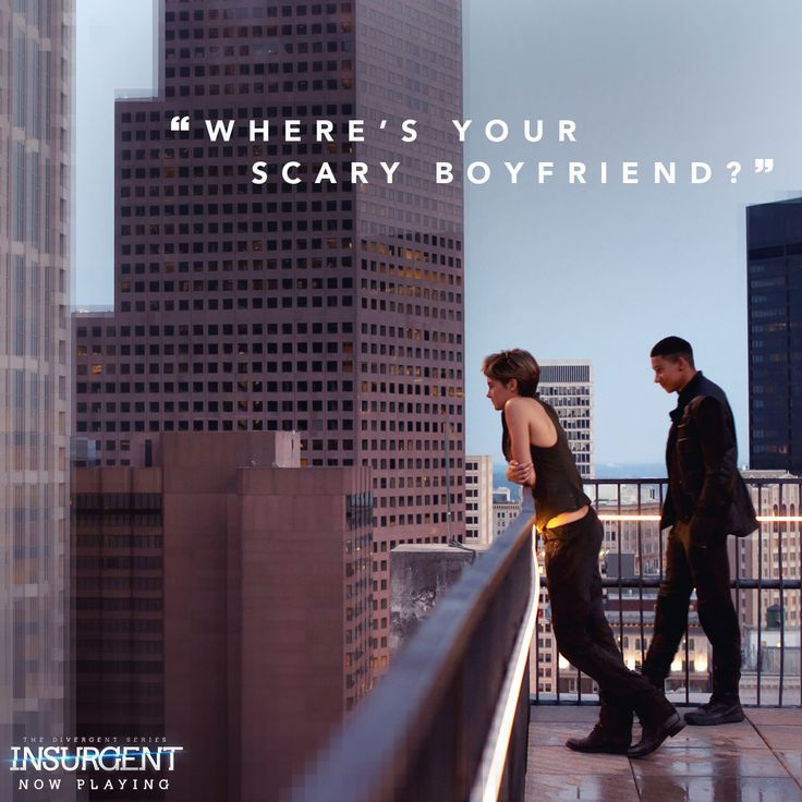 Yeah - Scary BEAUTIFUL. http://insur.gent/tix Favorite quote from insurgent. Question of the day: what is YOUR fav quote from the insurgent book and the insurgent movie??? Comment below!