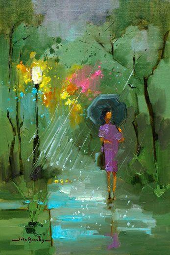 """""""Cores em dia chuvoso"""" (Colours on Rainy Day) by João Barcelos"""