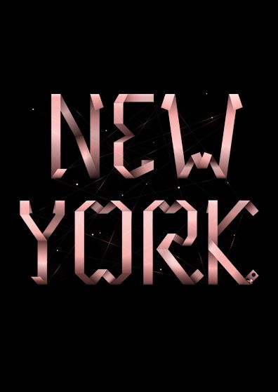 Could not explain my future more! : Favorite Places, Art Design, Graphics Design, New York, Typography, Newyork, Ribbons Types, Oscars Marchal Jpg 575 384, Design Stuff