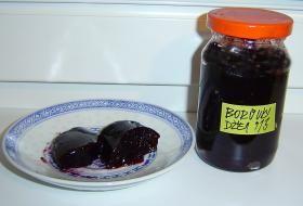 borůvkový džem | recept