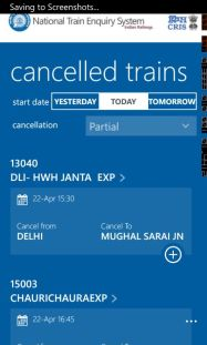 Indian Railways Launches The National Train Enquiry System (NTES) App screenshot 7