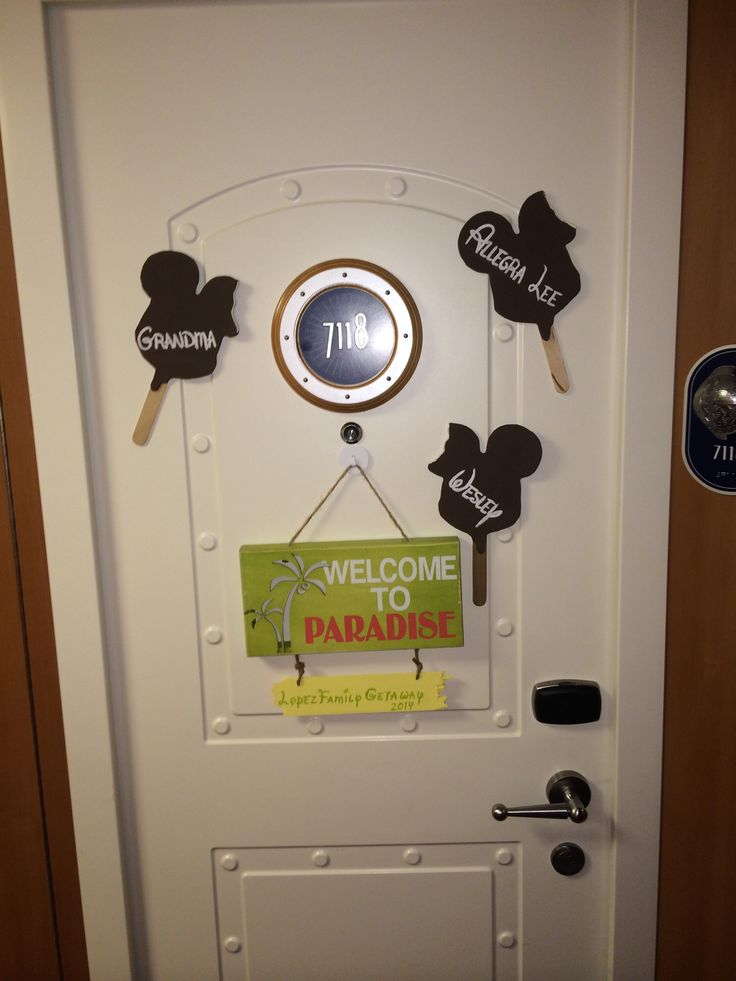 Door Decorations for Disney Cruise