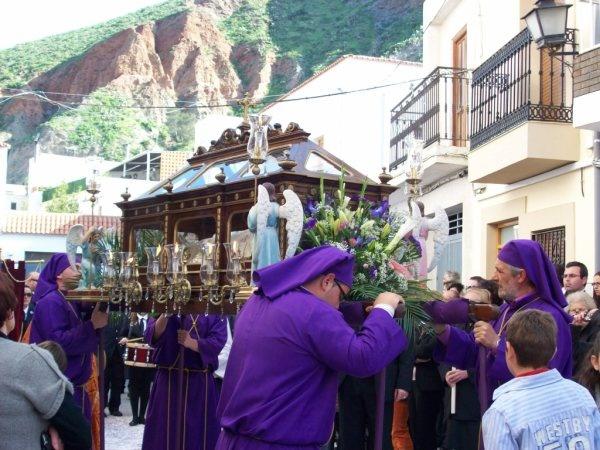 El Santo Entierro. Semana Santa de Alboloduy. Alpujarra. Almería