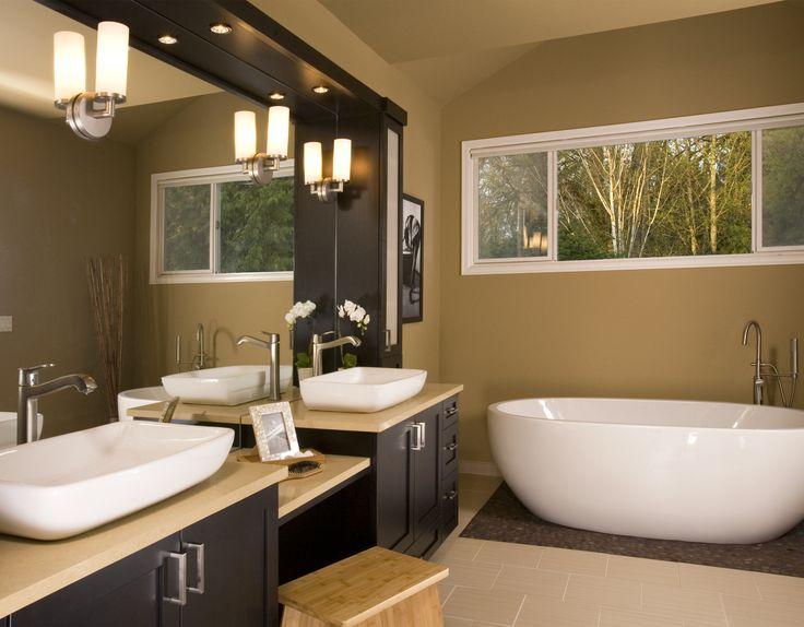 Best Cozy Warm Bathrooms Images On Pinterest Architecture