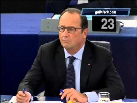 Hollande et Merkel au Parlement européen : la réplique de Bruno Gollnisch