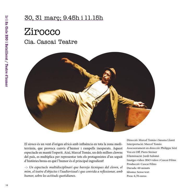 #ClippedOnIssuu from Campanya de teatre - ESO i Batxillerat