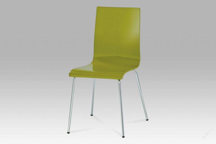 Jídelní židle zelná vysoký lesk XRE-028 (6761602600) - Aukro - největší obchodní portál