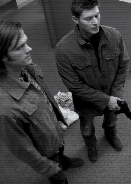 When the leviathans fake as Sam and Dean they always winked after commiting a crime