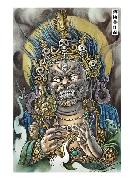 The 25+ Best Japanese Demon Tattoo Ideas On Pinterest