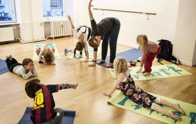 Storytime Yoga-trained teachers are leading the kids yoga movement in Denmark!