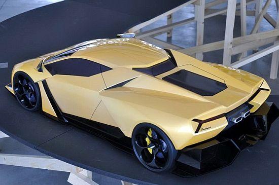 WEB LUXO - Carros de Luxo: Lamborghini Cnossus, conceito moderno e inovador#