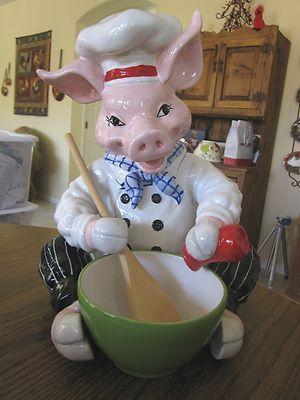 Pig Chef Blue Sky Clayworks Pinterest