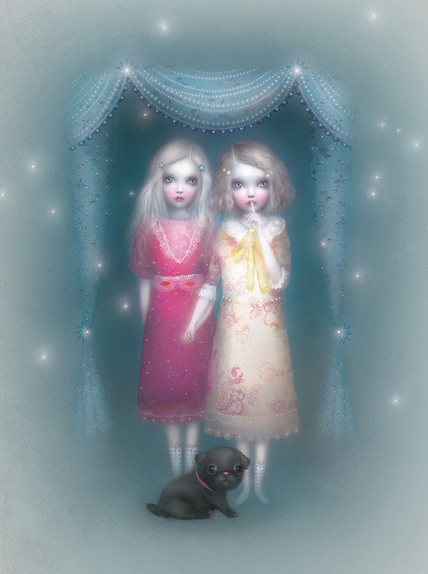 Illustrated by Lisa Evans (firefluff's),  Front cover art for Holly Webb's new book series Lily.