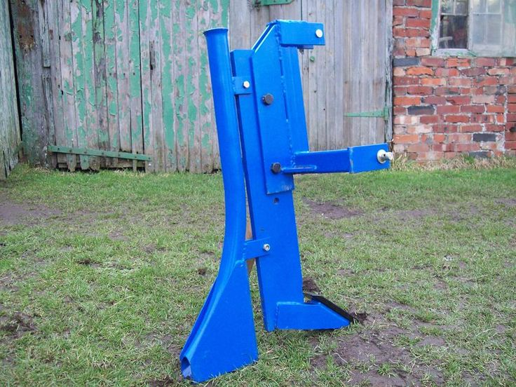 Garden Tractor Work Stand : Best post hole digger stand images on pinterest