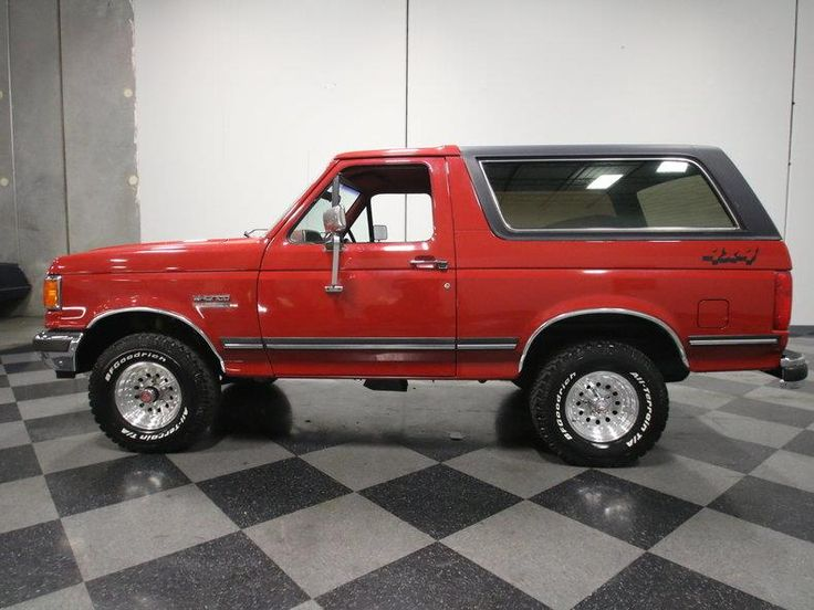 Used 1991 Ford Bronco For Sale