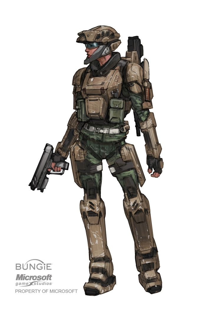 Xbox Halo concept art