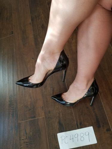 015cff82938 NWT Jimmy Choo LIZ Dorsay black patent heels pumps size 37 US 6.5 7 receipt