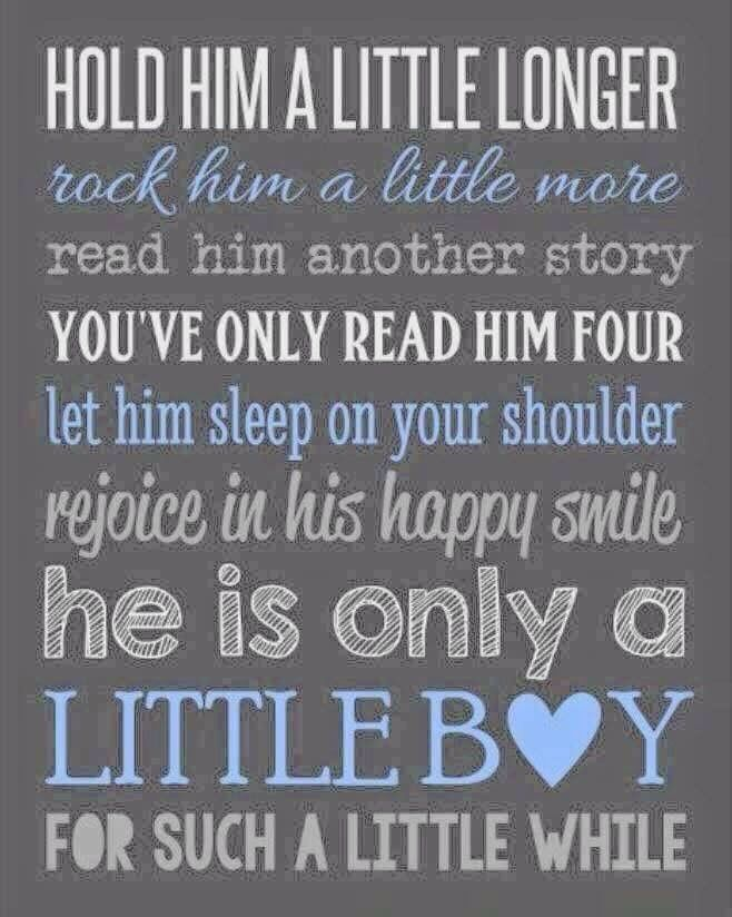Baby Boy Quotes From Mom