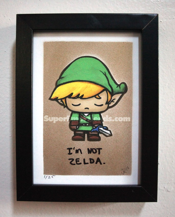 Super Emo Wink (Link Inspired) by SuperEmoFriends on Etsy. $25.00, via Etsy.