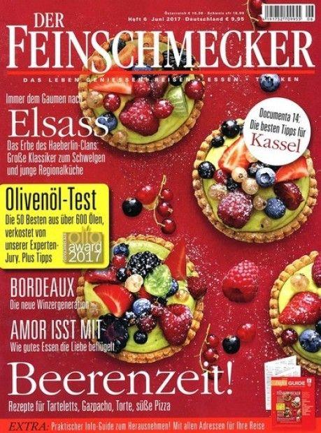 """Deine lieblings Zeitschrift """"Der Feinschmecker"""" rund um das Thema Essen im Abo mit Praemie bei uns erhaeltlich.  Spare jetzt Geld bei unseren Abo-Modellen und lass Dich von unseren Praemien überzeugen.  Besuche uns auf unseren Onlineshop!"""