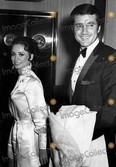 Mr. and Mrs. Lyle Waggoner at an event.