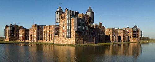Den Bosch, Haverleij, Kasteel Leliënhuyze, architect Sjoerd Soeters photo by Ben ter Mull