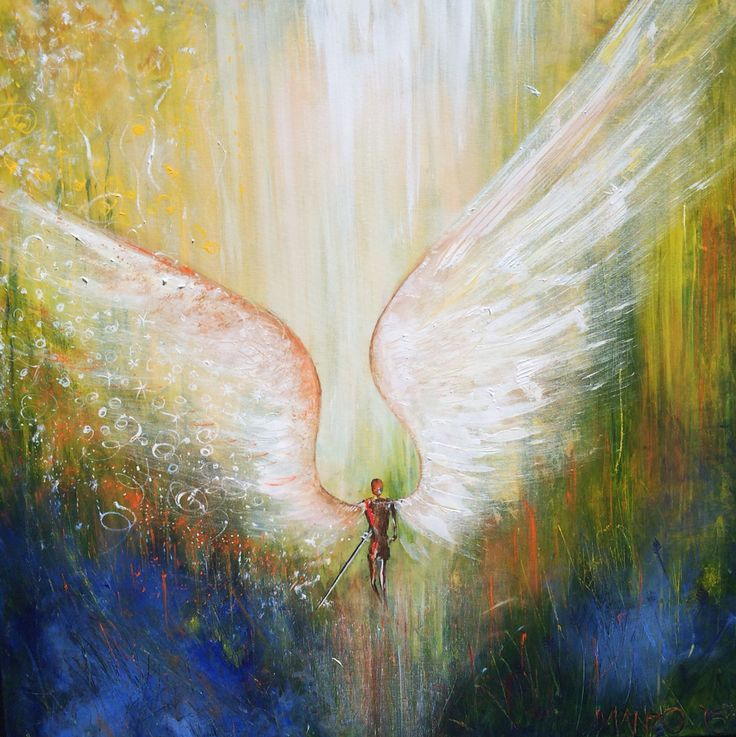 Angel of Intimacy. Prophetic art painted live at Pour It Out church 2015