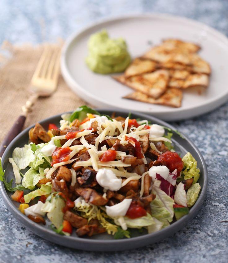 Vegetartaco med lompechips | Trening, bodyfitness og fordommer | Bloglovin'