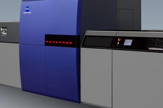 Drupa 2016 - Konica Minolta dévoile la presse jet d'encre KM-1