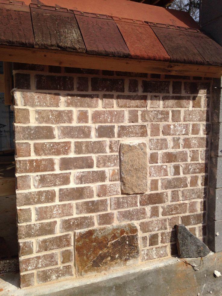 Jefferson Manor Brick Ivory Mortar Job Site Panels