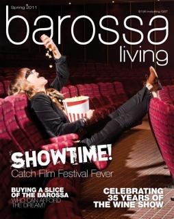Jason Hamer - Creative Director for Barossa Living Magazine Spring 2011