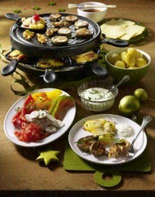raclette an heiligabend