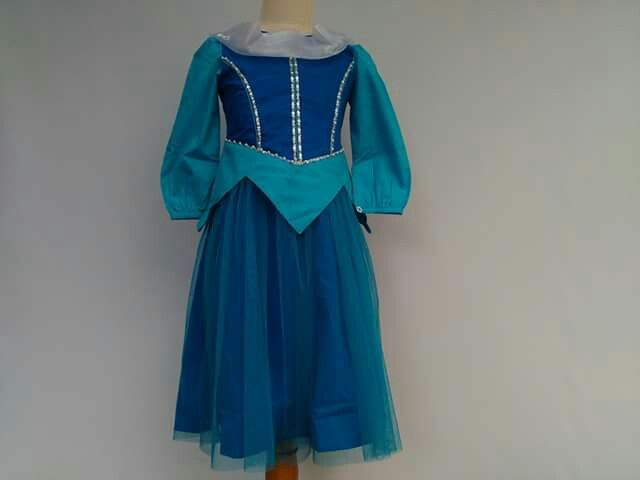 GAUN PESTA ANAK, Kode : Aini160505 blue, Bahan dari kain Katun, Ukuran yang tersedia usia 2 -12 tahun  Order : 082330528745 (telp/sms/Line) #partydress