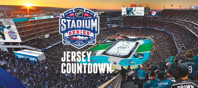 THE STADIUM SERIES JERSEY COUNTDOWN