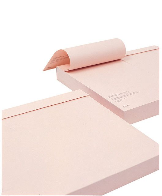 pink notepad for me please