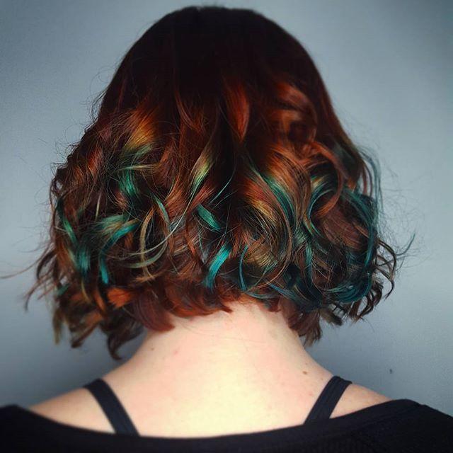 American Idiot Color Hair Hair Color Auburn Hair