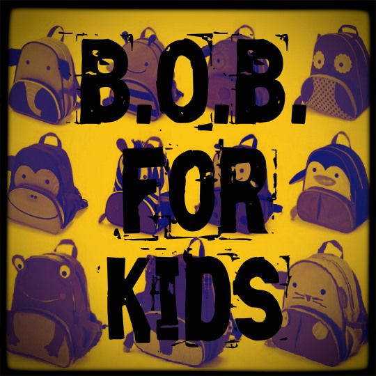 BOB for Kids. As I am sitting here watching MORE snow fall, my phone rings. It's a dear friend of mine asking for help. Their water pipes have frozen and