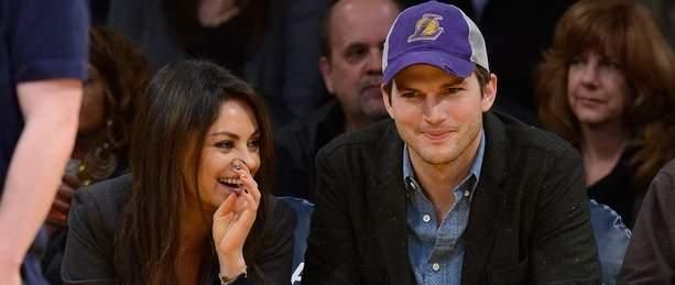 Mila Kunis Talks About T-Shirt Date Night with Ashton Kutcher