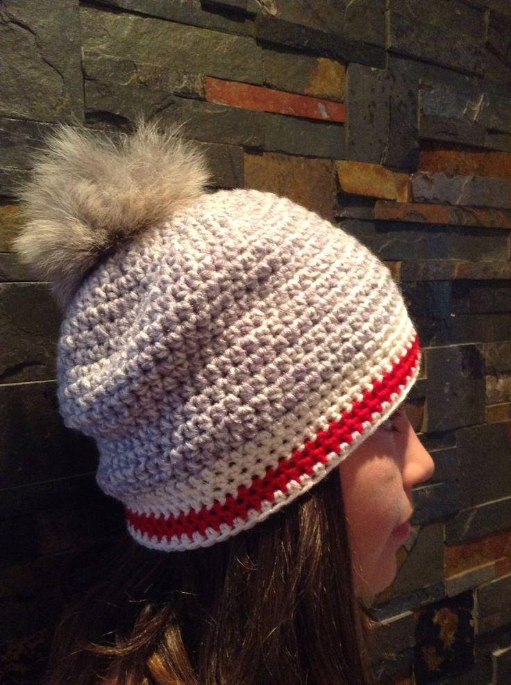 Tuque bas de laine (crochet)