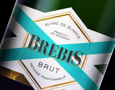 """Check out new work on my @Behance portfolio: """"Brebis Champagne"""" http://be.net/gallery/63343107/Brebis-Champagne"""