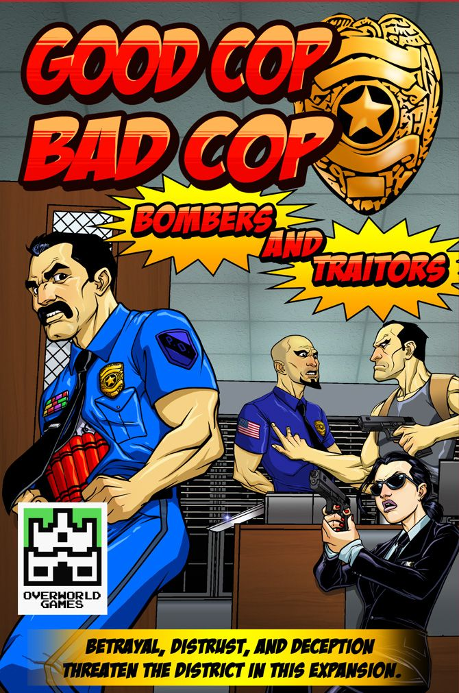 Good Cop Bad Cop Bombers & Traitors Expansion 50 Off