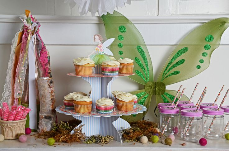fairy party | enchanted fairies party | Jade Celebrations | party boxes | party in a box