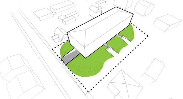 Lelewela Housing Estate #greenery #residential #home #architecture #art #design #geometry #analysis #idea #conception #site